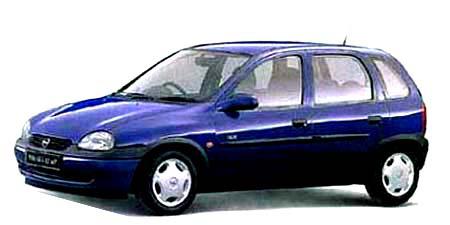 オペル ヴィータ スウィング1.2 16V (1998年11月モデル)