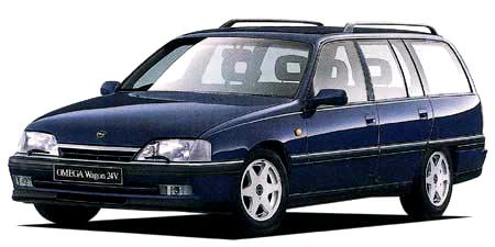 オペル オメガ ワゴン24V (1993年1月モデル)