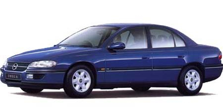 オペル オメガ CD (1995年10月モデル)