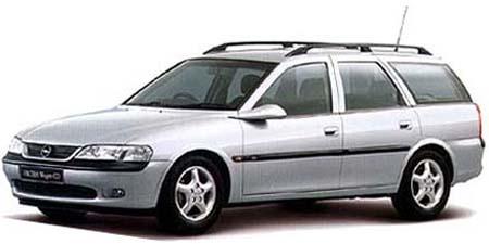 オペル ベクトラ ワゴンCDX (1997年3月モデル)