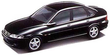 オペル ベクトラ CD (1999年3月モデル)