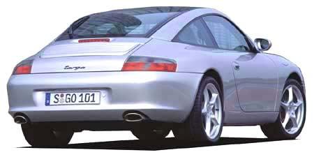 ポルシェ 911 911タルガ (2002年9月モデル)