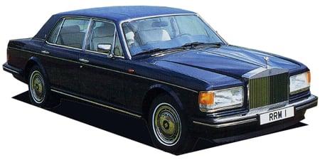 ロールスロイス シルバースパーII ベースグレード (1992年12月モデル)