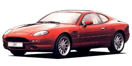 アストンマーティン DB7 クーペ (1995年8月モデル)