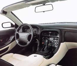 アストンマーティン DB7 ヴァンテージクーペ (1999年10月モデル)