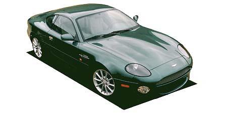 アストンマーティン DB7 ヴァンテージクーペ (2001年9月モデル)