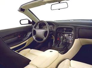 アストンマーティン DB7 ヴァンテージヴォランテ (2001年9月モデル)
