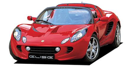 ロータス エリーゼ 120スタンダード (2003年2月モデル)