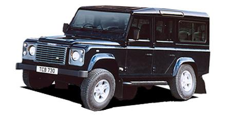ランドローバー ディフェンダー 110SE (2003年7月モデル)