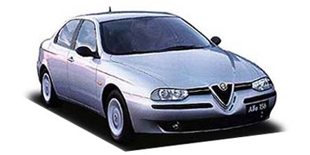 アルファロメオ アルファ156 2.5 V6 24V Qシステム(右) (1999年9月モデル)