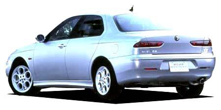 アルファロメオ アルファ156 2.5 V6 24V Qシステム (2002年9月モデル)