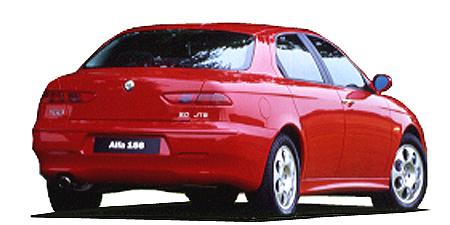 アルファロメオ アルファ156 2.0 JTS(右) (2003年1月モデル)