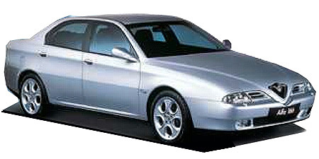 アルファロメオ アルファ166 3.0 V6 24V スポルトロニック (2003年1月モデル)