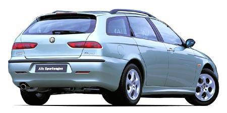アルファロメオ アルファスポーツワゴン 2.5 V6 24V Qシステム (2000年12月モデル)