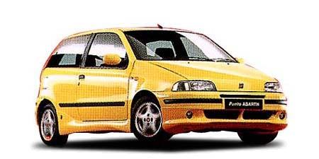 フィアット プント スポルティングアバルト (1998年4月モデル)