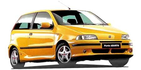 フィアット プント スポルティングアバルト (1999年11月モデル)