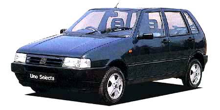 フィアット ウーノ セレクタ・オートマチック (1991年11月モデル)