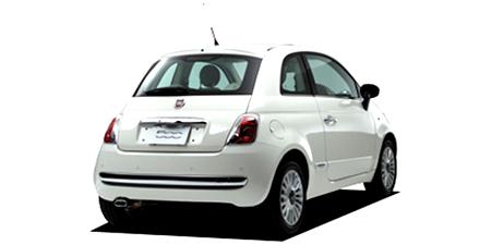 フィアット 500 1.2 8V ポップ (2009年2月モデル)