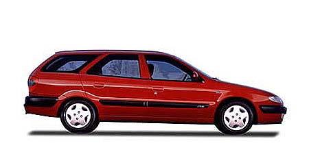 シトロエン クサラ ブレークSX (1998年11月モデル)