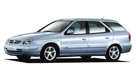 シトロエン クサラ ブレーク1.6 (2002年4月モデル)