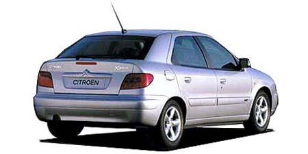 シトロエン クサラ 1.6 (2002年8月モデル)