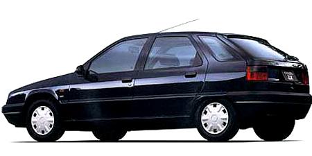 シトロエン ZX クラブ (1995年10月モデル)