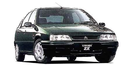 シトロエン ZX クラブ (1997年10月モデル)