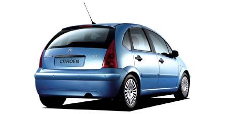 シトロエン C3 1.4 (2003年6月モデル)