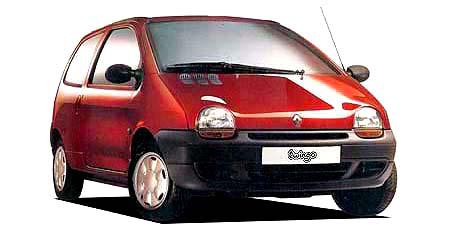 ルノー トゥインゴ パック (1995年9月モデル)