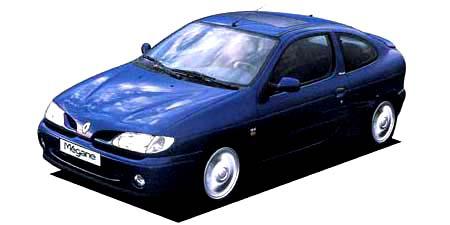ルノー メガーヌ クーペ16V (1996年9月モデル)