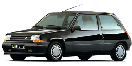 ルノー 5 ファイブ (1990年10月モデル)