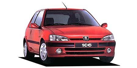 プジョー 106 S16 (1996年9月モデル)