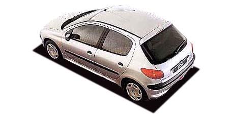 プジョー 206 XTプレミアム (2001年9月モデル)