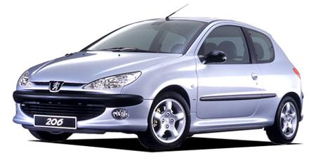 プジョー 206 S16リミテッド (2002年9月モデル)
