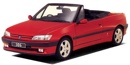プジョー 306 カブリオレ (1994年8月モデル)