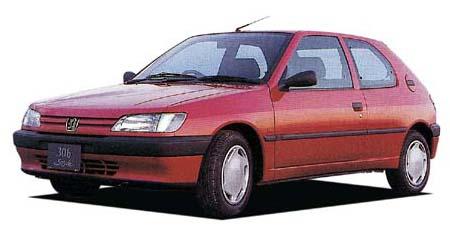 プジョー 306 スタイル (1995年11月モデル)