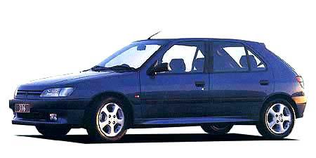 プジョー 306 XT (1997年3月モデル)
