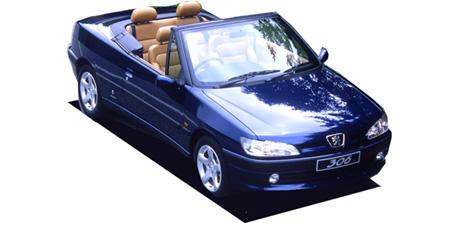 プジョー 306 カブリオレ (1997年8月モデル)