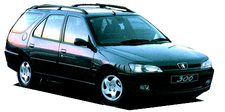 プジョー 306 ブレーク (1997年12月モデル)