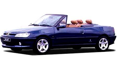 プジョー 306 カブリオレ (1998年10月モデル)