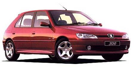 プジョー 306 XSi ソノール (2000年8月モデル)