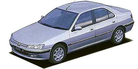 プジョー 406 セダンV6 レザーパッケージ (1998年10月モデル)