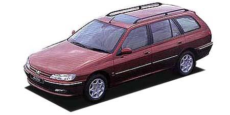 プジョー 406 ブレークV6 (1998年10月モデル)
