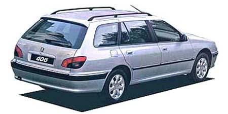プジョー 406 ブレークV6 (2002年9月モデル)