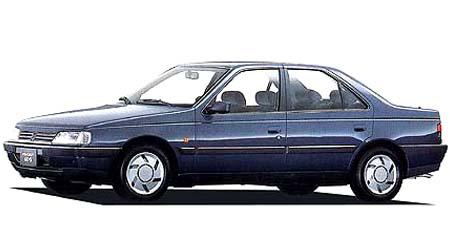 プジョー 405 MI16 レザーシート仕様 (1989年9月モデル)