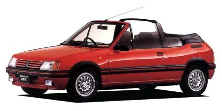 プジョー 205 CTI AUTO (1989年9月モデル)
