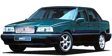 ボルボ 850 ターボ (1994年9月モデル)