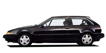 ボルボ 480 ターボ (1989年10月モデル)