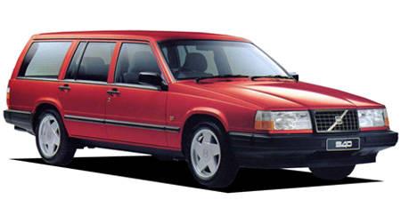 ボルボ 940エステート ターボ (1993年10月モデル)