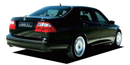 サーブ 9-5シリーズ 9-5 セダン エアロ (2004年12月モデル)